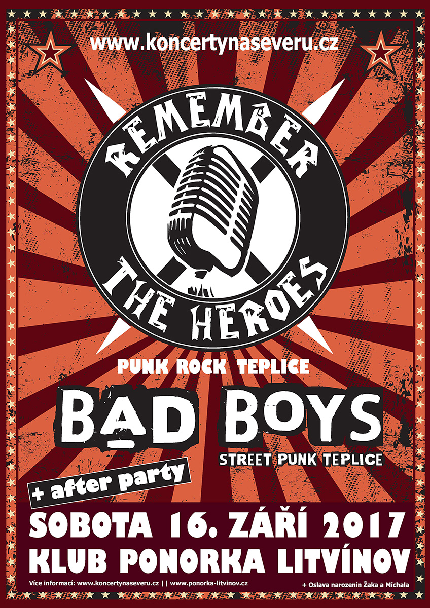 Remember The Heroes & Bad Boys v Ponorce [Litvínov]