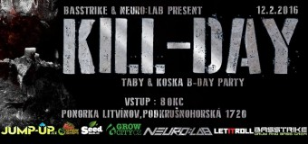VIDEOPOZVÁNKA: KILL-DAY w/ COUNTERSTRIKE [JAR] – Taby & Koska B-Day party