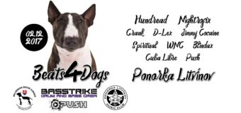 Drum'n'bass party Beats 4 Dogs v Ponorce