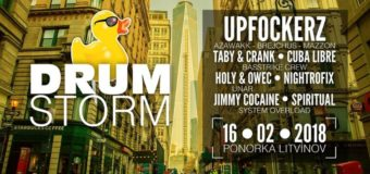 Drumstorm party: Upfockerz v Ponorce