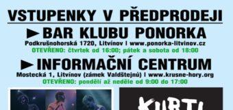 Vstupenky na koncerty kapel Zrní v Ponorce v předprodeji