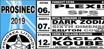 Prosinec 2019 v litvínovské Ponorce