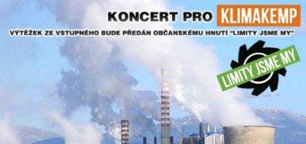 Koncert pro Klimakemp v Ponorce