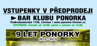 Vstupenky na koncert 9 let Ponorky: Průser, VMH, Meresjev, No Feeling