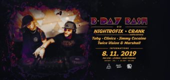 B-DAY BASH: Nightrofix & Crank